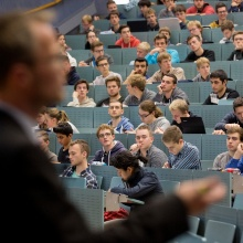 Lecture Hall V47.02 (or is it 47.03?), Dpt. Electrical Engineering