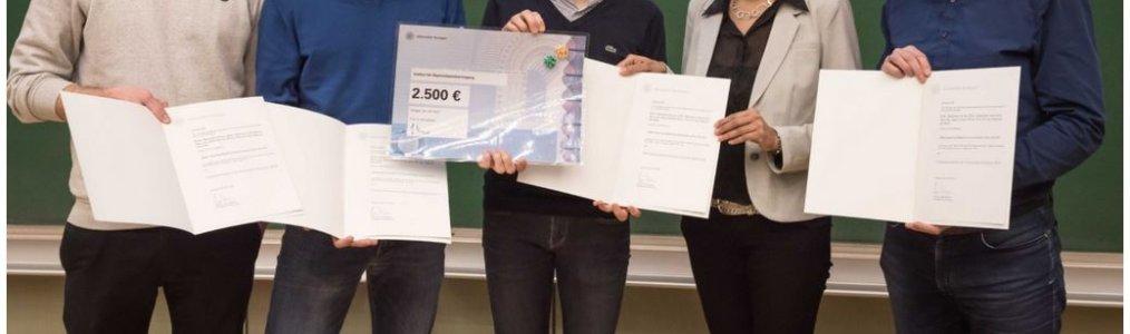 2019 Best Paper Award, University of Stuttgart